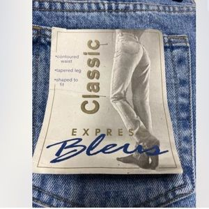 Express Bleus 90's Mom Jeans Deadstock 13/14